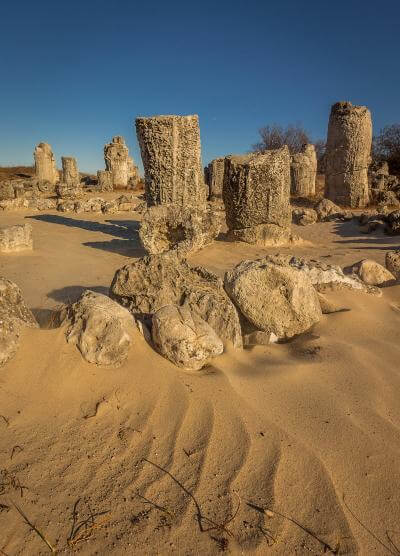 photos of Bulgaria - Pobiti Kamani (The Stone forest)