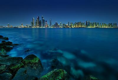 Dubai photography locations - Palm Island - Marina View