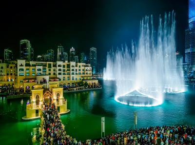 Dubai photo locations - Dubai Fountain