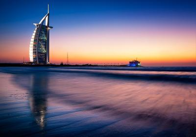 Dubai photography locations - Jumeirah Beach - Burj Al Arab View