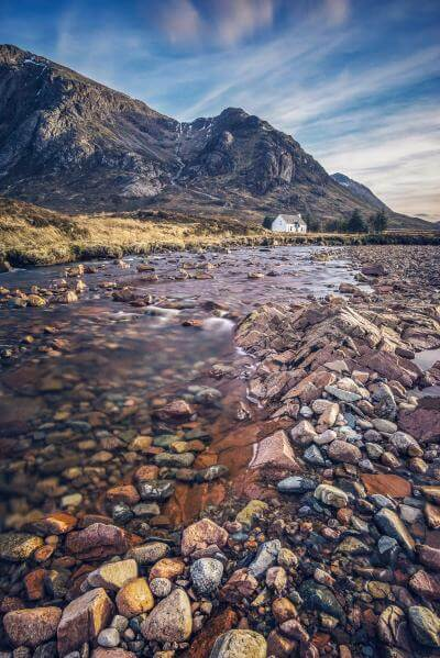pictures of Glencoe, Scotland - Lagangarbh Cottage