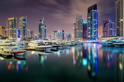photography spots in Dubai - Marina Walk West II