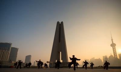 photo locations in Shanghai - People's Memorial (上海市人民英雄纪念塔)