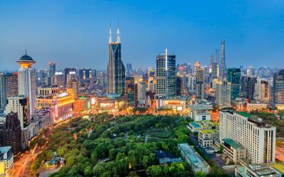 Shanghai photo locations - J W Marriott - Tomorrow Square (明天广场JW万豪酒店)