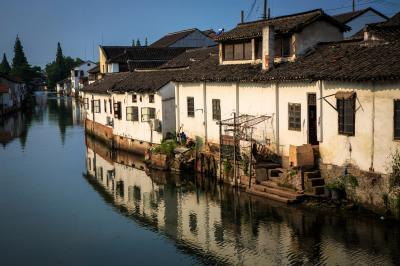 photo spots in Shanghai - Jinze Water Town (金泽镇)