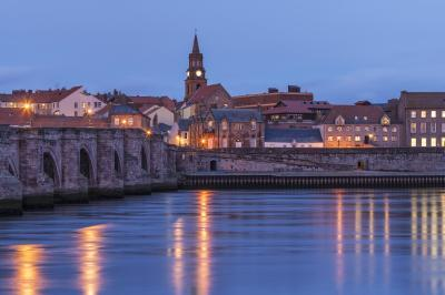 Berwick and the River Tweed