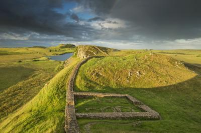 instagram locations in England - Hadrian's Wall - Milecastle 39