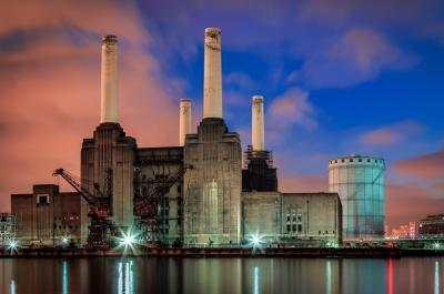 photos of London - View of Battersea Power Station