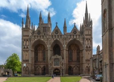 photography spots in England - Peterborough Cathedral