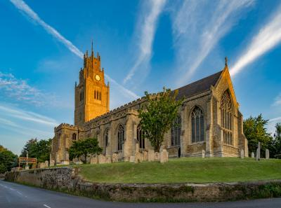 Ely photo locations - St Andrew's Church, Sutton-in-the-Isle