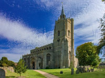 photography locations in England - St Mary's Church, Burwell