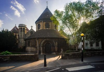 England photo locations - The Round Church, Cambridge