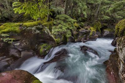 photography spots in Montana - Avalanche Gorge