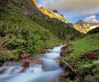 photo locations in Montana - Baring Creek