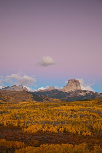Montana photo spots - Chief Mountain