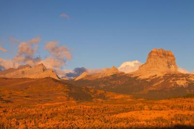 pictures of Glacier National Park - Chief Mountain
