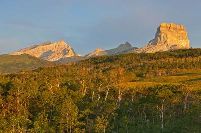 photos of Glacier National Park - Chief Mountain