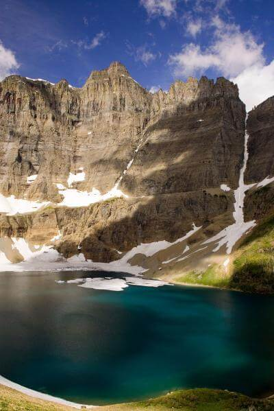 instagram spots in Montana - Iceberg Lake