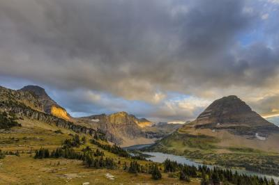 Montana instagram locations - Hidden Lake Trail and Overlook