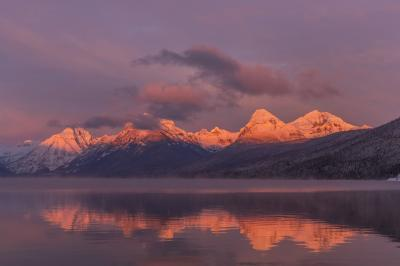 photography spots in Montana - Lake McDonald at Apgar Village