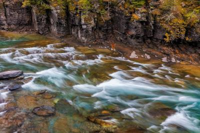 Montana photography spots - McDonald Creek