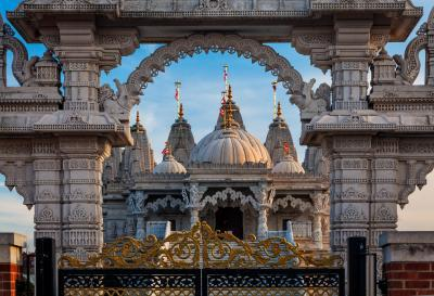 images of London - Naesden Temple
