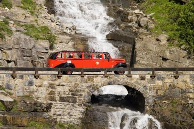 photos of Glacier National Park - Red Jammer Buses