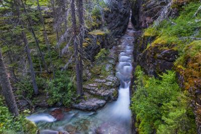 photography spots in Montana - Sunrift Gorge