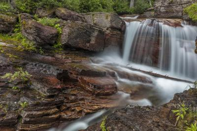 pictures of Glacier National Park - Virginia Creek and Falls
