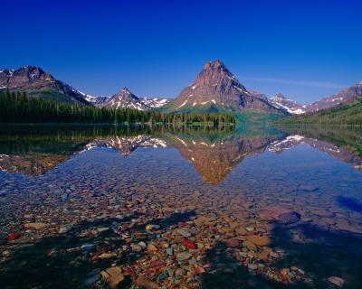 Montana photo spots - Two Medicine Lake