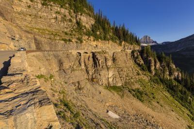 images of Glacier National Park - Going to the Sun Road