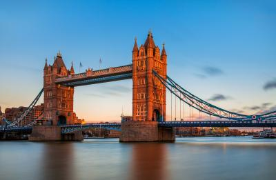 photos of London - View of Tower Bridge from South Bank