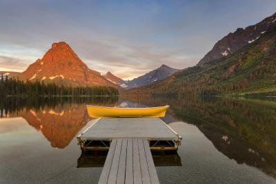 pictures of Glacier National Park - Two Medicine Lake