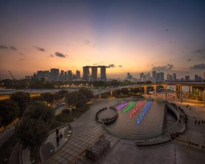 photography spots in Singapore - Marina Barrage