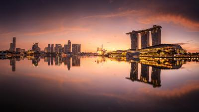 photography locations in Singapore - Marina Bay Promontory & Boardwalk