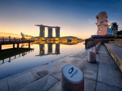 Photographing Singapore - Merlion Park