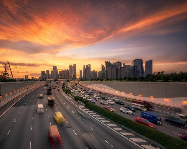 Marina Coastal Expressway photo spot, Singapore