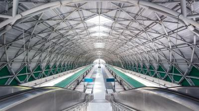 photo spots in Singapore - Tuas Link MRT Station