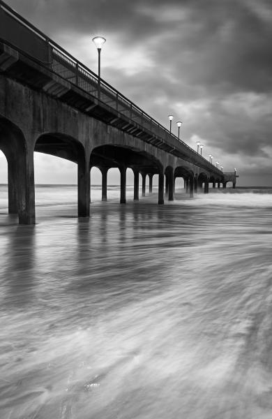 images of Dorset -   Boscombe Pier