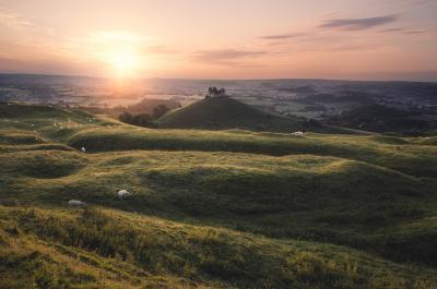 pictures of Dorset -   Colmers Hill