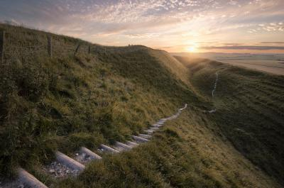 photography locations in England -   Maiden Castle