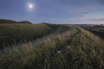 pictures of Dorset -   Maiden Castle