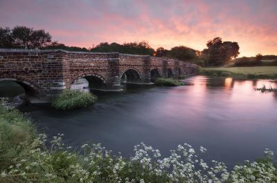 instagram spots in England -   White Mill Bridge