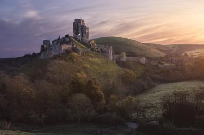 photos of Dorset - Corfe Castle