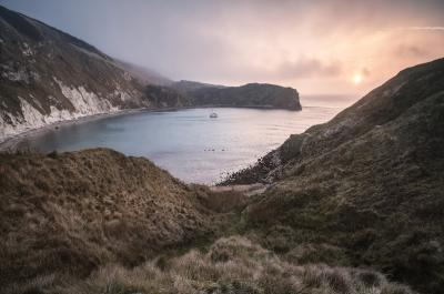 photos of Dorset - Lulworth Cove