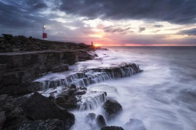 images of Dorset - Portland Bill Lighthouse