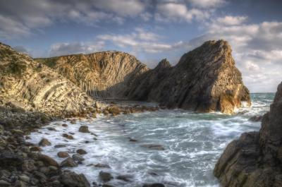 photo spots in Dorset - Stair Hole