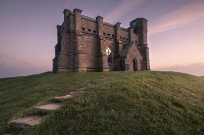images of Dorset - St. Catherine's Chapel - Abbotsbury