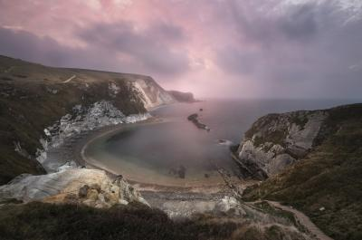 images of Dorset - Man O' War Bay
