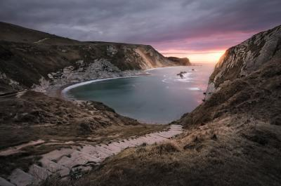 photos of Dorset - Man O' War Bay